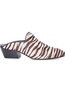 Sapato Feminino Mule - Animal Print