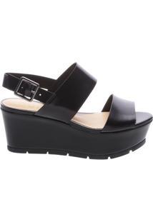 Sandália Flatform Black | Schutz