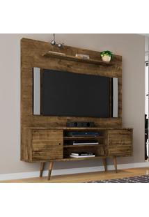 Estante Para Tv 2 Portas Tivoli Madeira Rustica - Móveis Bechara