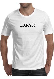 Camiseta Hunter Respect Branca
