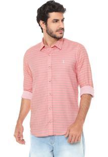 Camisa Sergio K Reta Horizon Coral