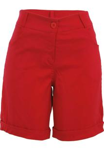 Bermuda Pirony Vermelha Ref. 4573-3