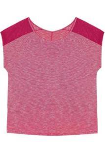 Blusa Plus Size Rovitex Premium - Feminino-Roxo
