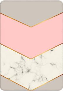 Tapete Love Decor Sala Wevans Pink Marble - Cinza - Dafiti