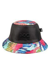 Chapéu Bucket Mxc Brasil Original Garden Colors Tie Dye Preto