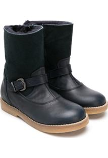 Gallucci Kids Buckled Ankle Boots - Azul