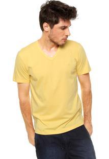 Camiseta Forum Slim Amarela