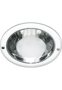 Luminária De Embutir Redonda Branca 1Xe27 Bonin 4066Bc