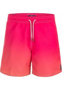 Shorts Mic Fun Degradê Rosa