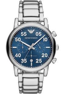ac3cf69ec66 ... Relógio Empório Armani Masculino Luigi - Ar11132 1Kn Ar11132 1Kn -  Masculino-Prata
