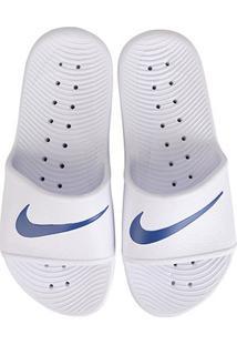 Sandália Nike Kawa Shower - Masculino-Branco+Azul