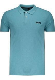 Camisa Polo Fatal Fashion Basic Masculina - Masculino