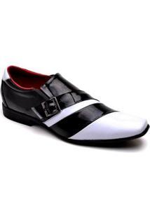 Sapato Social Top Franca Shoes - Masculino-Preto