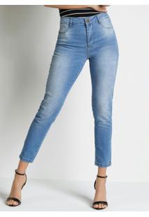 Calça Jeans Cigarrete Heart Jeans Sawary