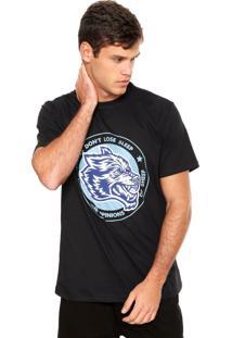 Camiseta Fiveblu Wolves Preta