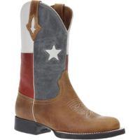 Bota Couro Texas West Country Masculina - Masculino-Marrom b19ba867652