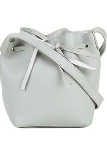 Bolsa Shoestock Mini Bucket Candy Feminina - Feminino-Verde