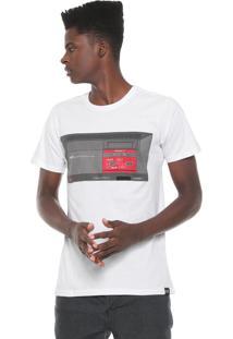 Camiseta Tectoy Master System Sega Console Bf Branca