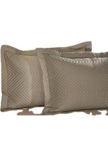 Porta Travesseiro 100% Algodáo 200 Fios Vd 2 Peças – Corttex - Tricae