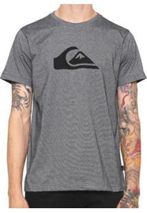 Camiseta Quiksilver Especial M&Wave Stripes Masculina - Masculino