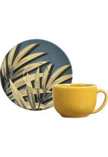 Xícara De Chá Coup Sumatra Cerâmica 6 Peças Porto Brasil