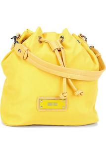 Bolsa Santa Lolla Nylon Feminina - Feminino-Amarelo