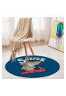 Tapete Redondo Wevans Surfer 84Cm