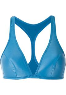 Track & Field Top Lycra Cirrê Tf Power - Azul