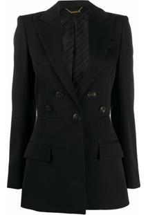 Givenchy Blazer Com Detalhe De Botões - Preto
