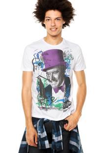 Camiseta Ellus 2Nd Floor Basic Penguim Branca
