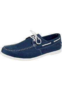 Docksider Casual Moderno Sapatotop Shoes Confortável Azul