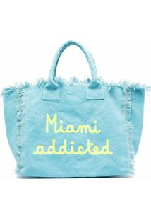 Mc2 Saint Barth Bolsa De Praia Miami Addicted - Azul