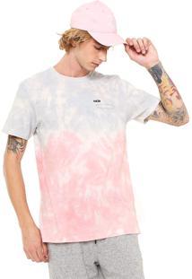 Camiseta Mcd Dust Colors Azul/Rosa