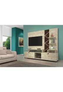 Home Para Tv Cross Rovere Com Noce - Lukaliam Móveis