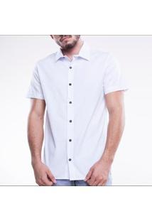 Camisa Social Manga Curta Element Mormaii Masculina - Masculino