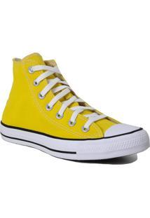 Tênis All Star Chuck Taylor Converse Cano Curto Converse Amarelo - Kanui