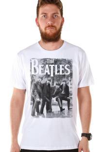 Camiseta Bandup The Beatles Hey What'S That Branca
