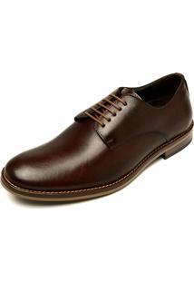 Sapato Social Couro Reserva Dani Marrom