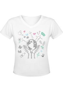 Camiseta Nerderia Eco 2 Branco - Kanui