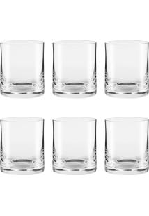Conjunto De 6 Copos De Cristal On The Rocks 410Ml Classic