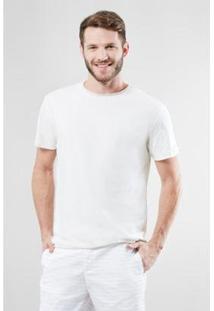 Camiseta Reserva Double Face Riviera Masculina - Masculino-Off White