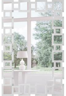 Espelho Decorativo Pavia 67X104 Cm Branco