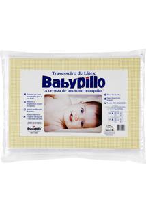 Travesseiro Copespuma Babypillo Látex Para Bebês 25X35 Cm