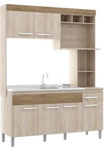 Cozinha Compacta Decibal New Verona, 6 Portas, 1 Gaveta - Cv6010