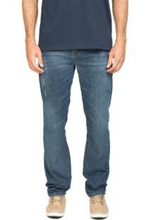 Calça Jeans Vintage Blue Slim