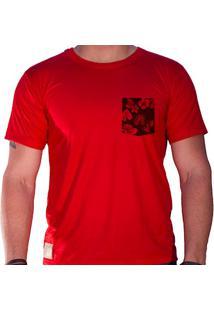 Camiseta Masculina Sandro Clothing Lee Vermelha