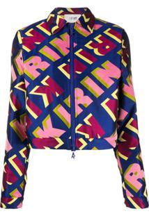 Kirin Repeat Logo Jacket - Azul