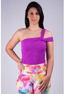 Body Savyon Violeta - Salto Triplo - Feminino-Violeta