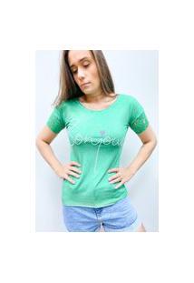 Camiseta Pedraria Bonjour - Verde