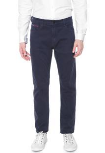 Calça Sarja Tommy Jeans Slim Modern Tapered Azul-Marinho